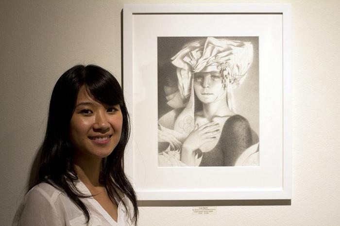 Современная художница Тран Нгуен.