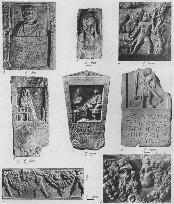 Античные надгробные памятники