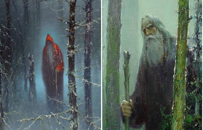 Мистические картины Юрия Васендина.