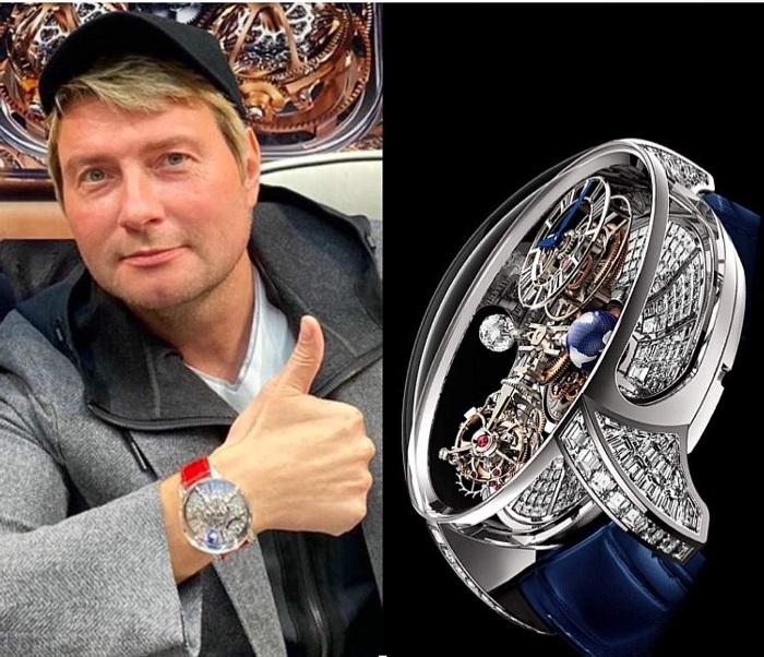 Николай Басков и уникальные эксклюзивные часы в 70 миллионов рублей.