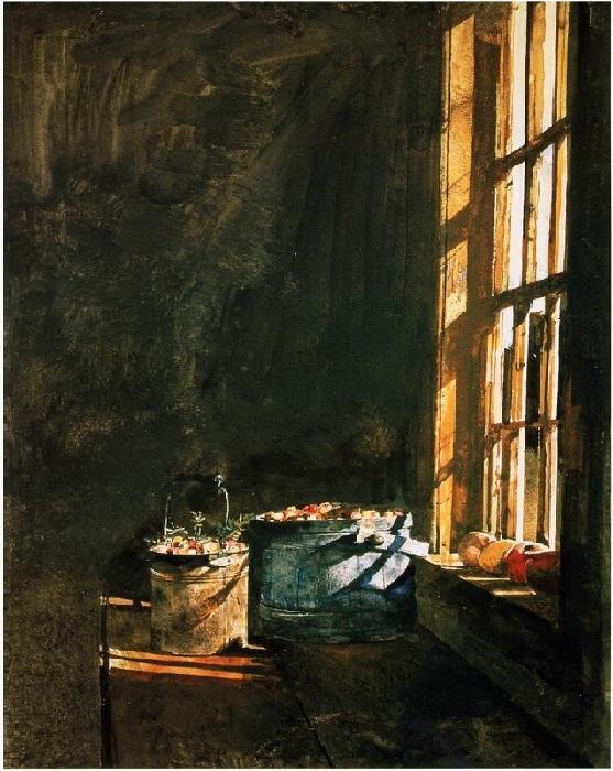 Интерьерная живопись от Эндрю Уайета.