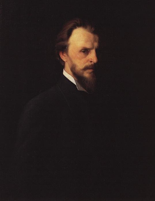 Григорий Мясоедов. Автопортрет.
