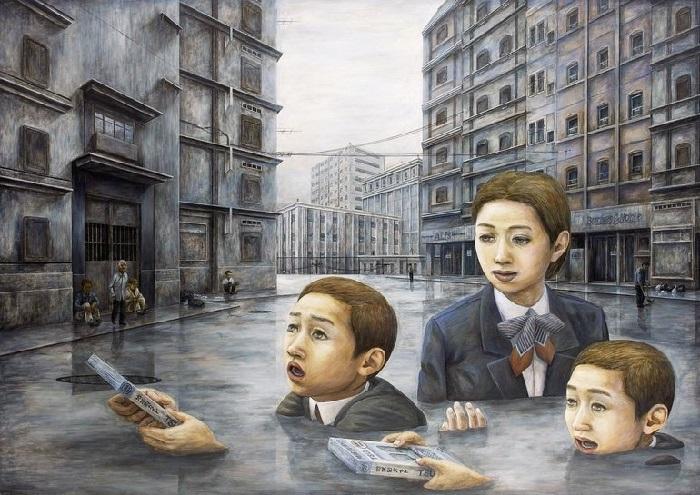 Мрачный сюрреализм от Tetsuya Ishida.