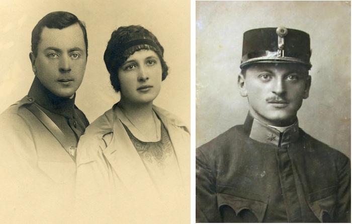 Петр с женой Ольгой. / Тарас Франко 1916 год.