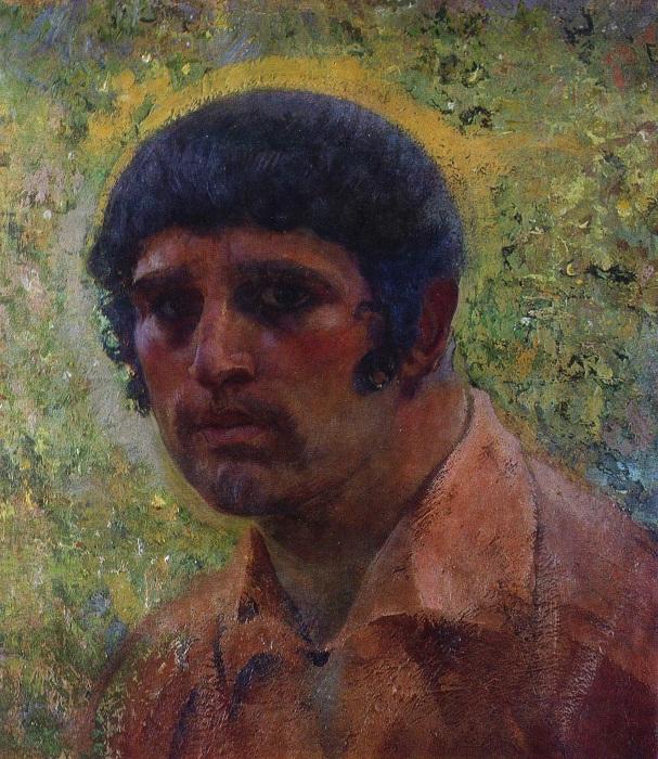 Автопортрет Ивана Мясоедова.