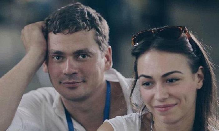 Александр Пашков с Кариной Романюк.