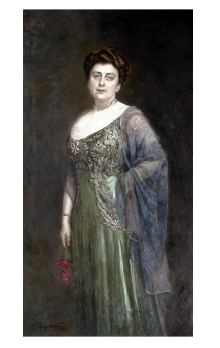 Княгиня Гагарина. Автор: Николай Бодаревский.