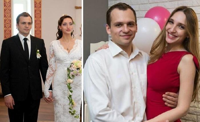 Дарья Клюшникова и Алексей Янин. / Фото: starhit.ru