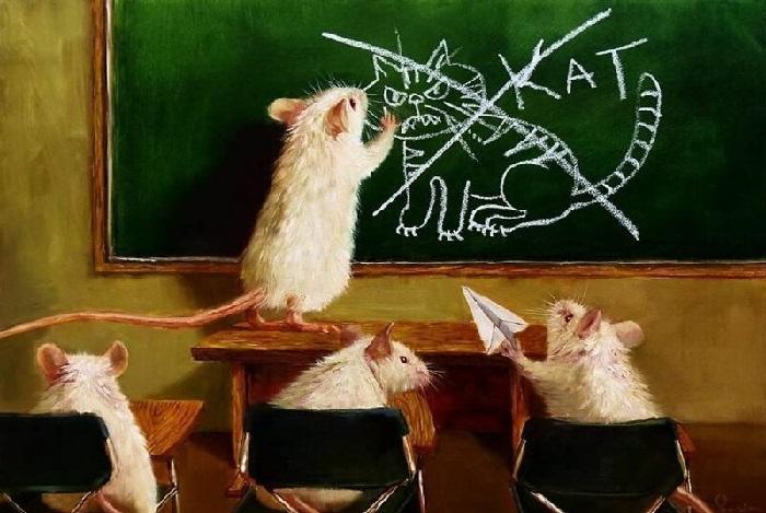 Ну и что, что с усами... ну и что, что с когтями... Автор: Lucia Heffernan.