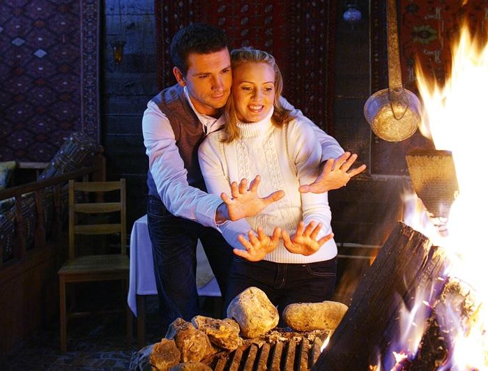 Антон и Елена Хабаровы. ¦ Фото: vokrug.tv.