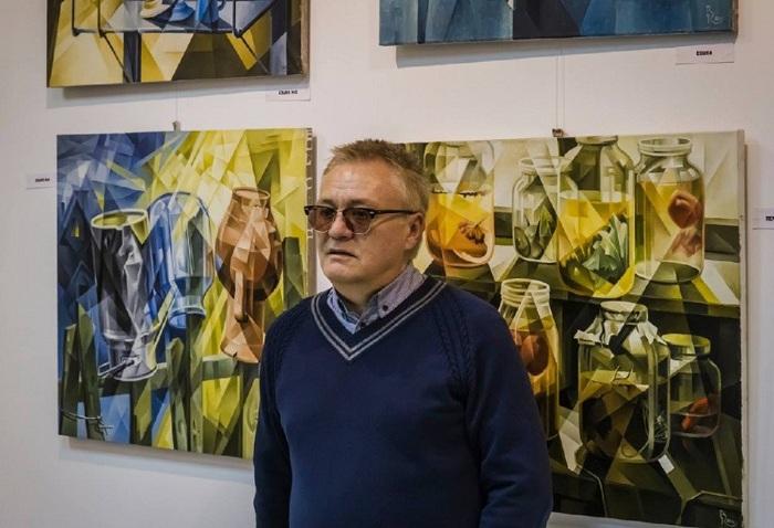 Василий Вячеславович Кротков - московский художник-кубофутурист.