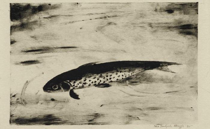 Ида О'Кифф, «Рыба» (1933).