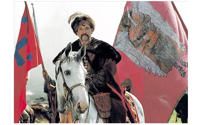 Богдан Хмельницкий - предводитель казацкого восстания.