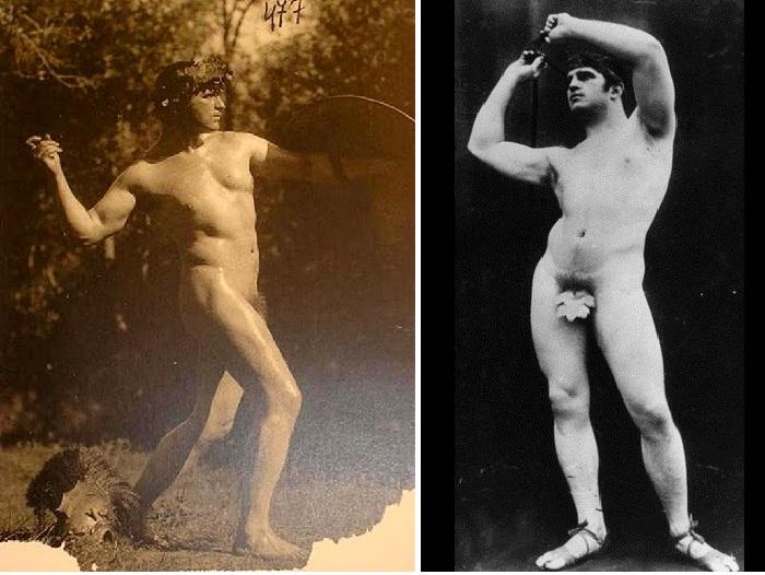 Иван Мясоедов в образе Вакха (1905 год).
