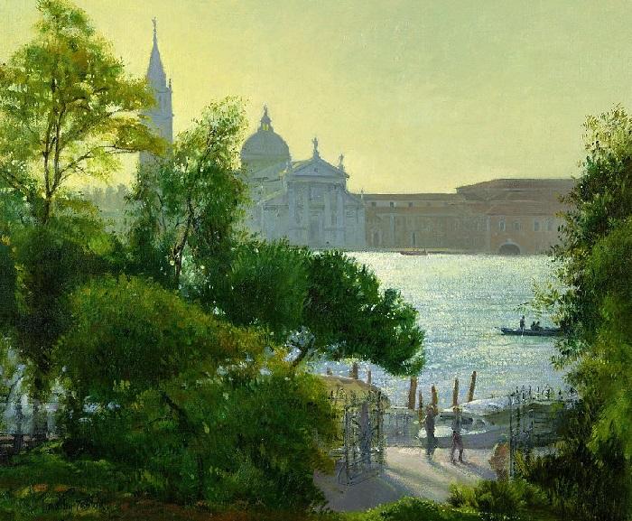 Сан Джорджио - Венеция (San Giorgio - Venice). Художник: Timothy Easton.