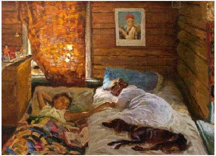 Утро.  Автор: Соломин Николай Николаевич.