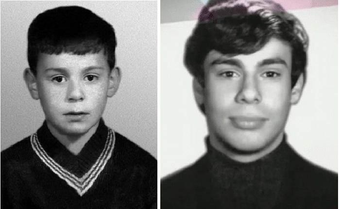 Ефим Шифрин в школьные годы.