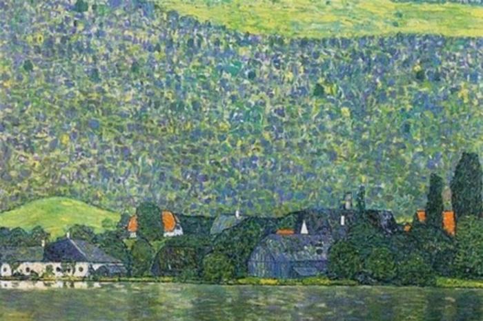 «Лицльберг на Аттерзе». Автор: Gustav Klimt.