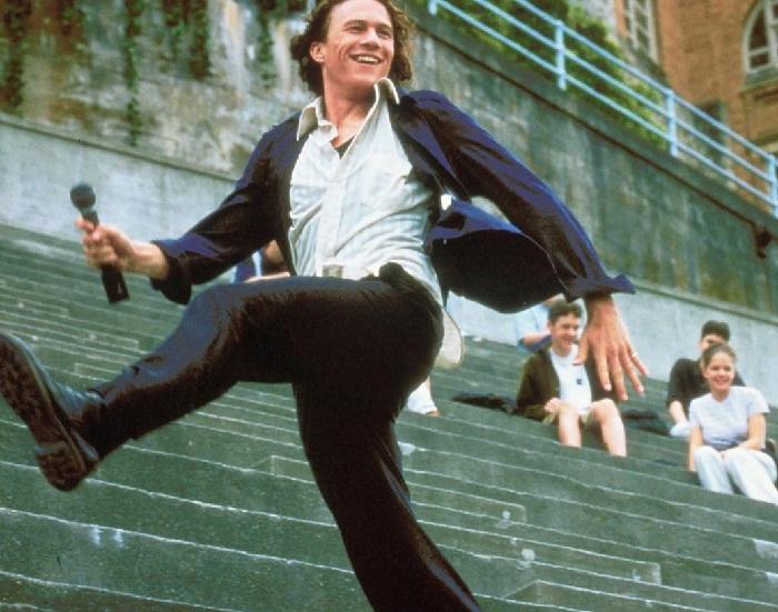 Хит Леджер в роли Патрика Вероны в кинофильме «10 причин моей ненависти».
