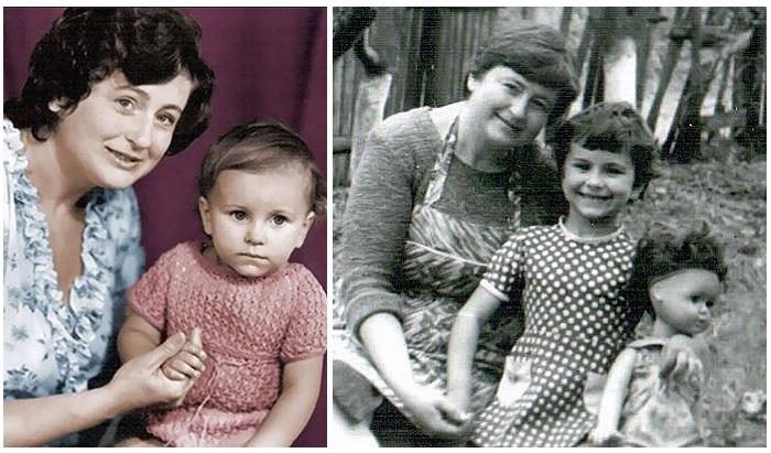 Каролина с мамой Жанной Васильевной.