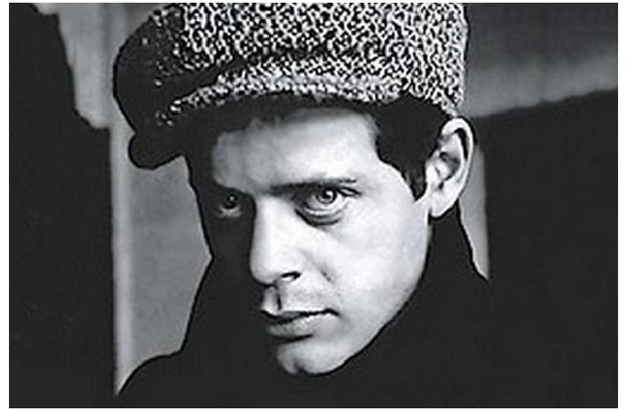 Аркадий Штейнбок в юности.
