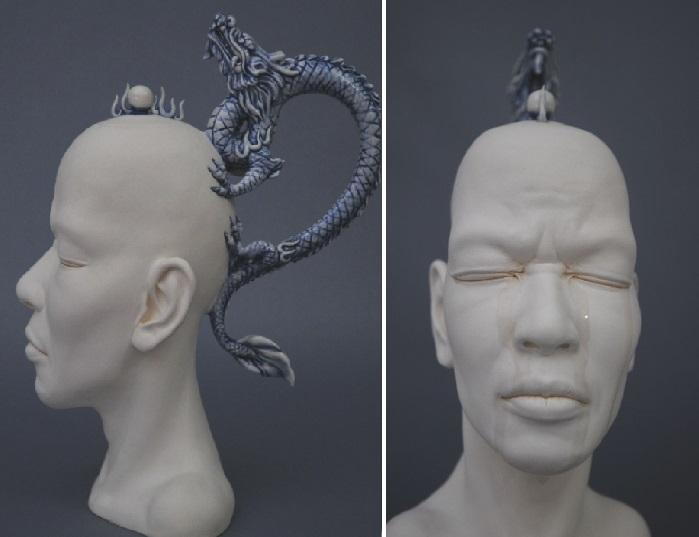 Необычные скульптуры Джонсона Цанга.