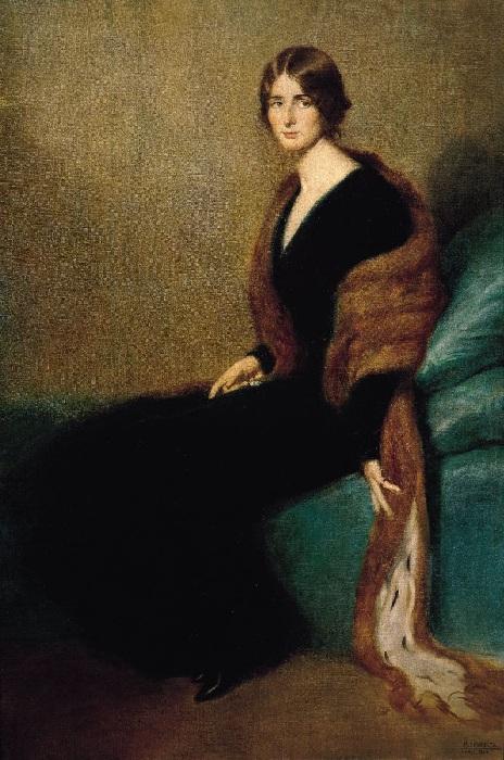 Портрет Клео де Мерод. Автор: Мануэль Бенедито.