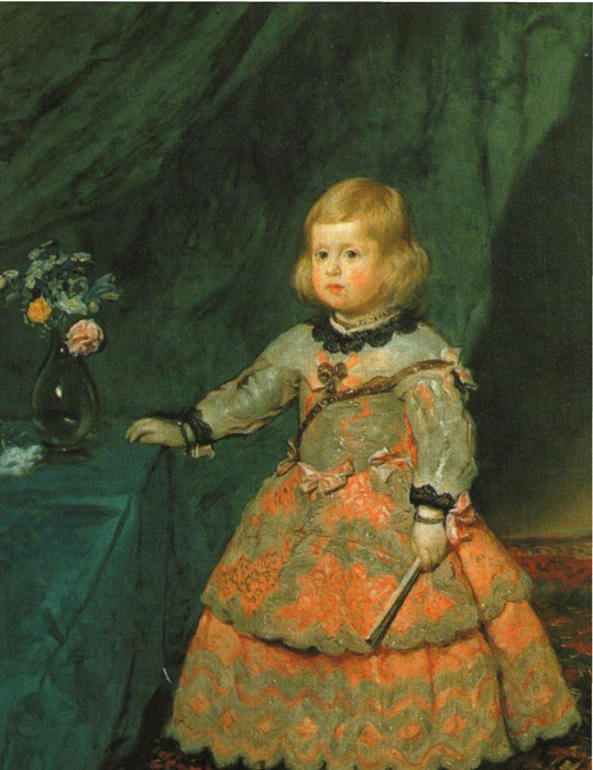 « Первый портрет инфанты Маргариты». Автор: Диего Веласкес.