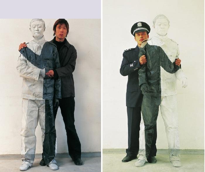 Фотоработы от китайского художника-невидимкиЛюБолиня.