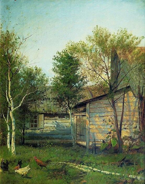 Левитан И.И. Солнечный день. Весна. 1876-1877. Частное собрание