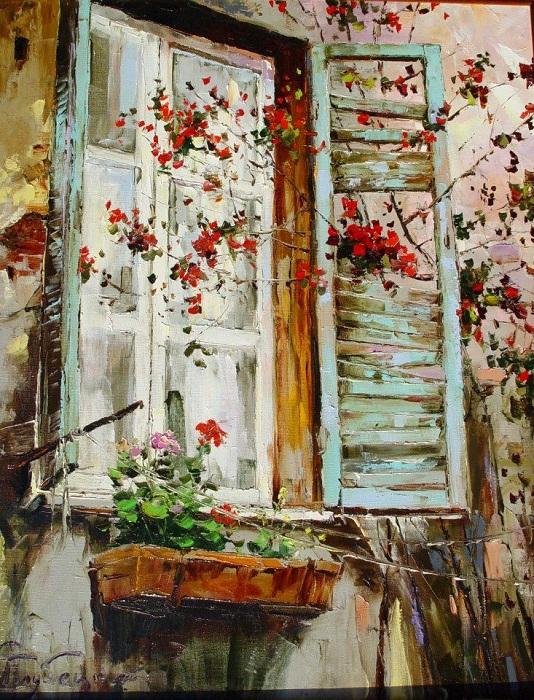 *Окна в живописи* от Глеба Голубецкого.