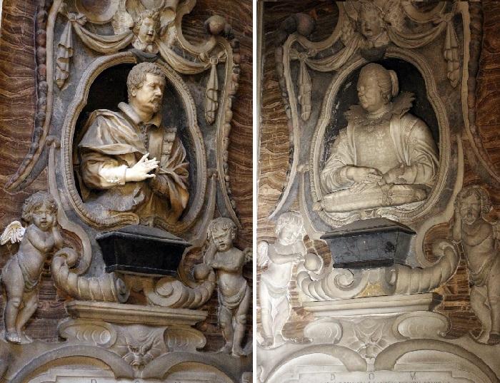 Скульптуры эпохи барокко Джулиано Финелли. Кафедральный собор Святого Януария.