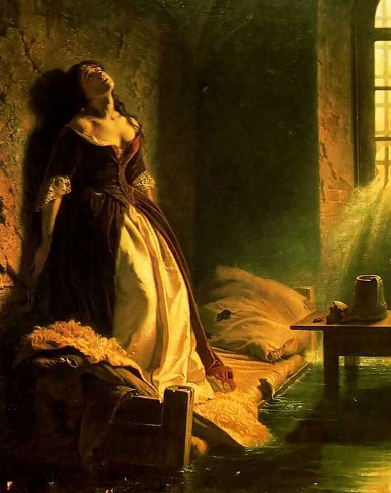 К. Д. Флавицкий. «Княжна Тараканова». 1864 год. Третьяковская галерея