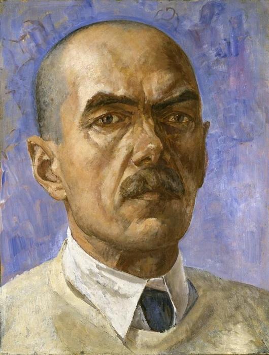 К.С. Петров-Водкин. Автопортрет. (1929 год.)