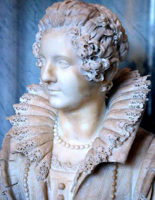 «Мария Барберини». Фрагмент. Скульптор: Джулиано Финелли.