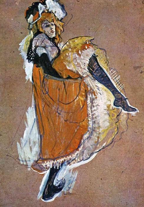 Жанна Авриль. (1893).