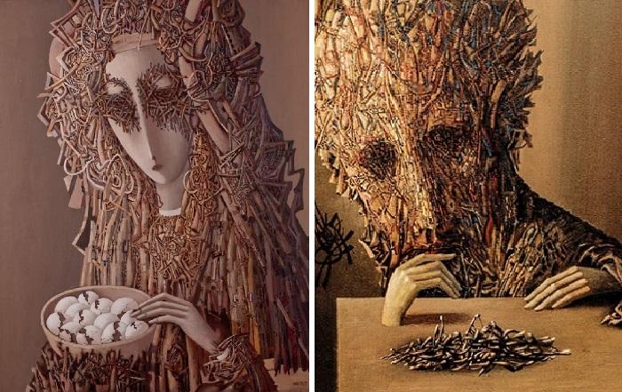 Живопись в стиле «плентанизм» от Ивана Марчука.