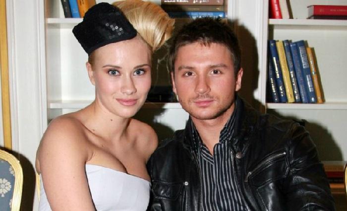 Сергей Лазарев и Анна Белодедова.   Фото: woman.ru.