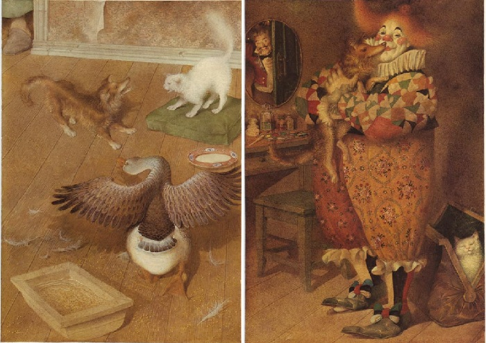 «Каштанка». Иллюстрации от Геннадия Спирина.