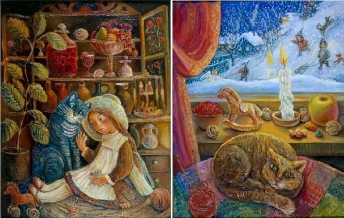 Картины Ольги Величко, которые несут свет, доброту и любовь