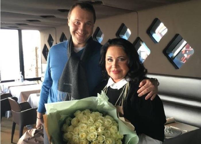 Надежда Бабкина с сыном Даниилом Заседателевым. | Фото: instagram.com.