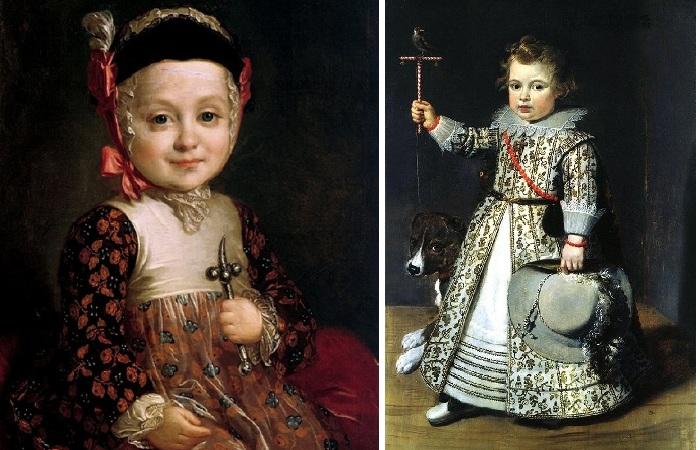 Почему мальчики 400 лет носили платья.