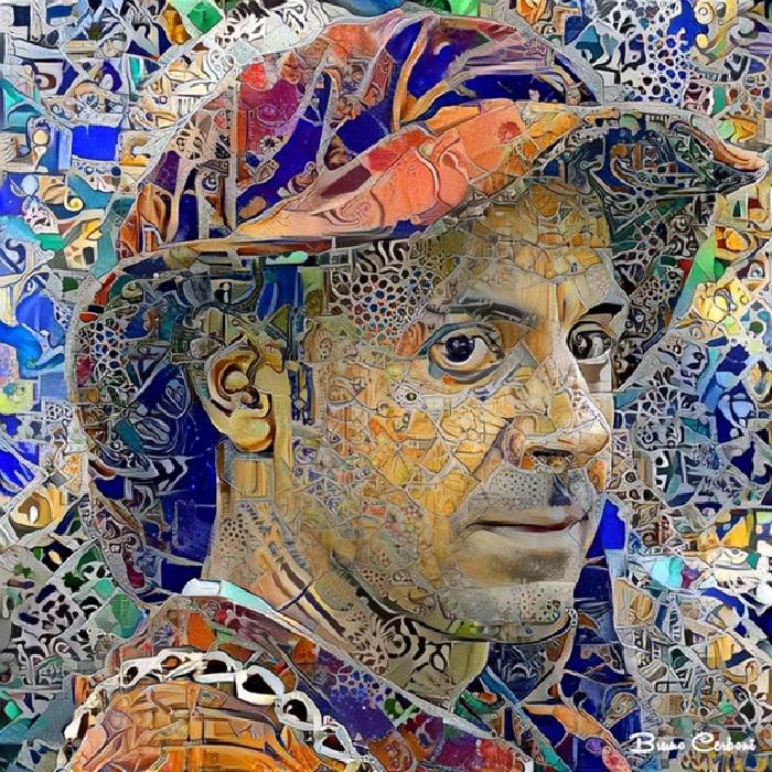 Цифровые мозаики от Бруно Чербони.