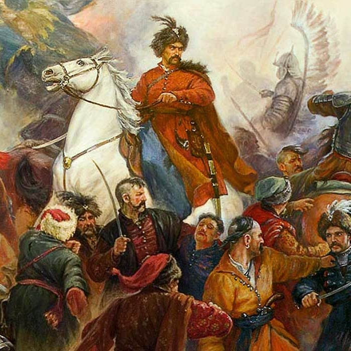 Богдан Хмельницкий - украинский гетман.