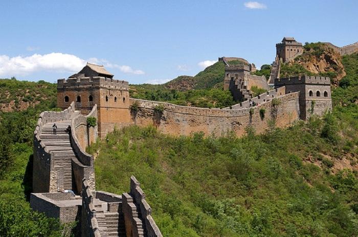 Великая китайская стена.( Строительство III век до нашей эры- 1644 год.