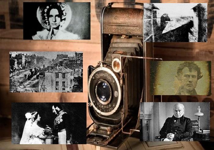 Одни из самых первых фотоснимков в мире.