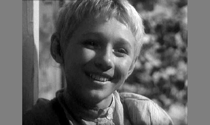 Семен Морозов в детстве.