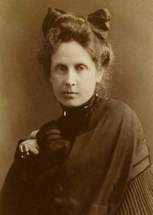 Ольга Фёдоровна Трубникова-Серова.