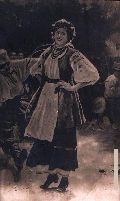 «Гопак». Лувр.Франция. Автор: Николай Пимоненко.