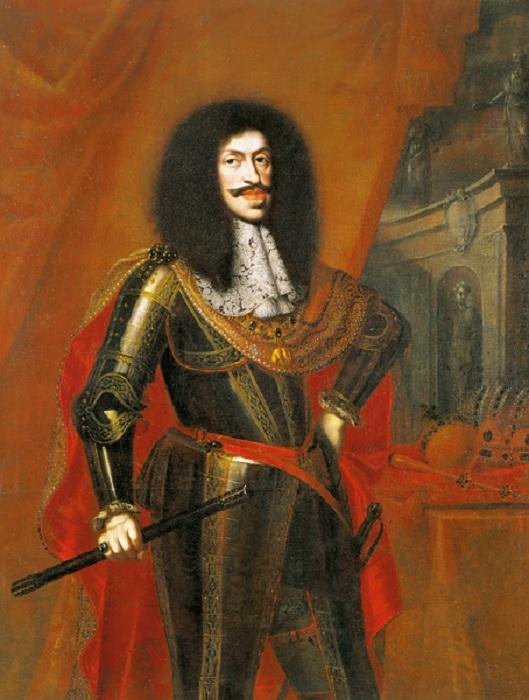Портрет императора Священной Римской империи Леопольда I.